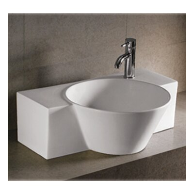 Isabella Ceramic Specialty Vessel Bathroom Sink
