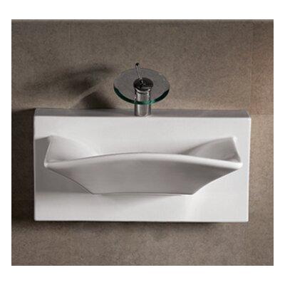 Isabella Ceramic 28 Wall Mount Bathroom Sink
