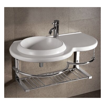 Isabella Ceramic 36 Wall Mount Bathroom Sink