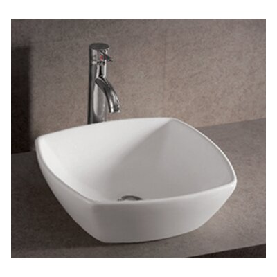Isabella Single Bowl Square Vessel Bathroom Sink