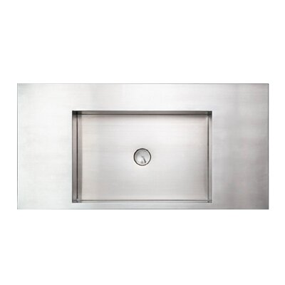 Noahs Rectangular Vessel Bathroom Sink