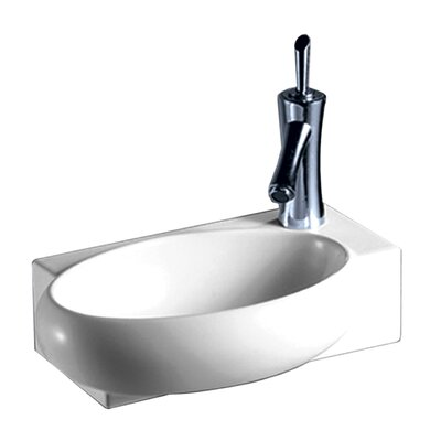 Isabella 16.87 Wall Mount Bathroom Sink