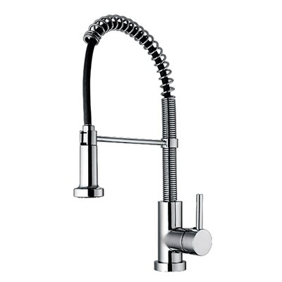 Jem Single Handle Hole Faucet with Flexible Spout