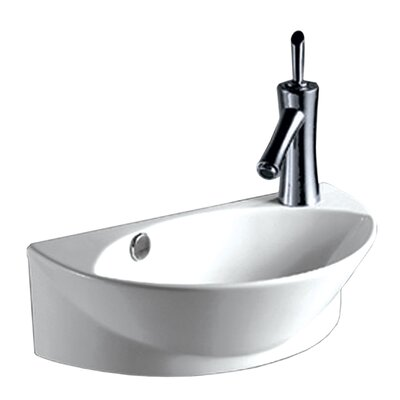 Isabella 17.38 Wall Mount Bathroom Sink