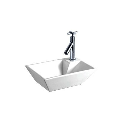 Isabella Vitreous China 15 Wall Mount Bathroom Sink
