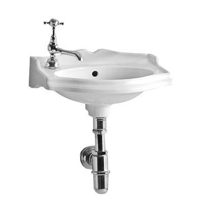 China 14.5 Wall Mount Bathroom Sink