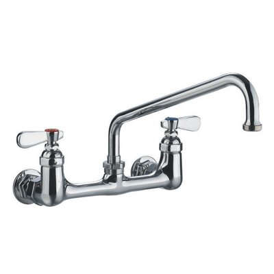 Laundry Double Handle Wall Mount Utility Faucet