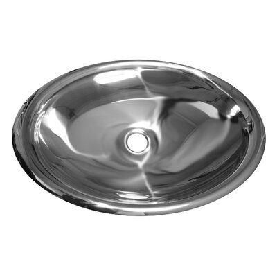 Noahs Oval Undermount Bathroom Sink