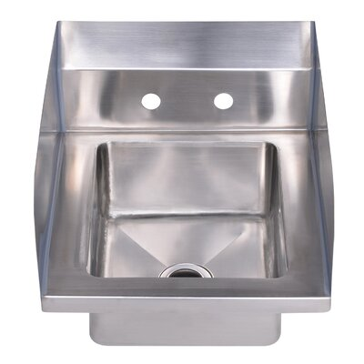 Noahs 14 x 16.5 Single Bowl Drop-In Hand Kitchen Sink