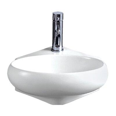 Isabella Vitreous China 15 Wall Mount Bathroom Sink
