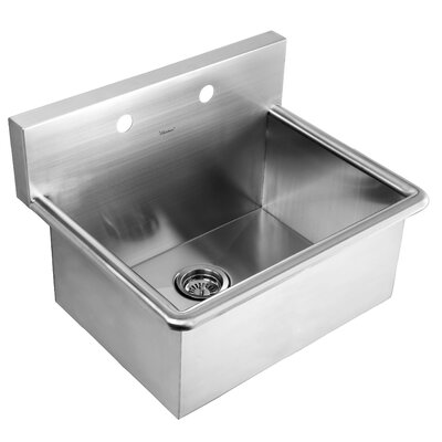 Noahs 25 x 19.5 Stainless Steel Commercial Drop-In Laundry-Scrub Kitchen Sink