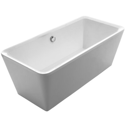 Bathhaus 67 x 31.5 Freestanding Bathtub