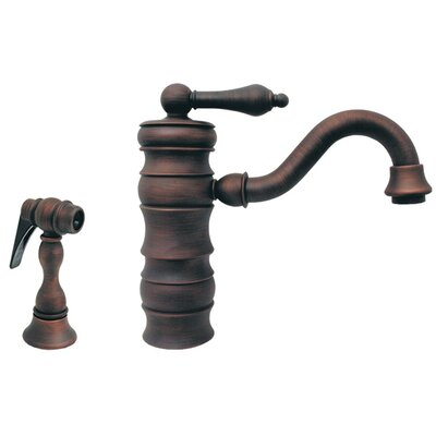 Vintage III Single Handle Bar Faucet with Swivel Spout Finish: Mahogany Bronze