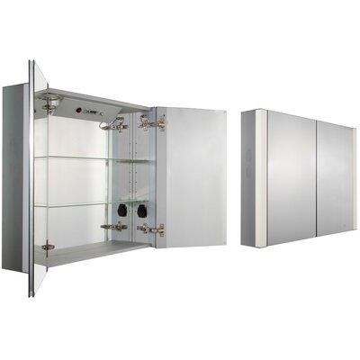 Musichaus 35 x 27.5 Surface Mount Medicine Cabinet