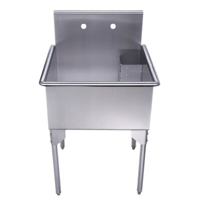 Pearlhaus 27 x 27 Single Freestanding Utility Sink