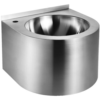 Noahs Metal 12 Wall Mount Bathroom Sink