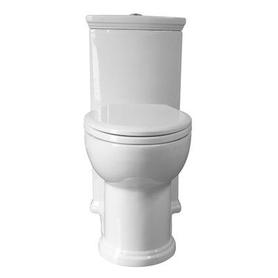 Magicflush Dual Flush Elongated One-Piece Toilet