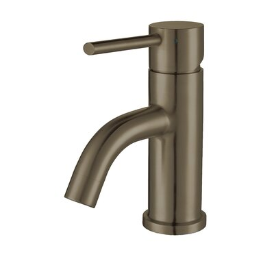 Waterhaus 1 Handle Deck Mouted Standard Bathroom Faucet Finish: Brushed