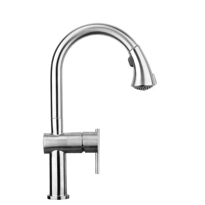 Waterhaus Pull Out Single Handle Kitchen Faucet