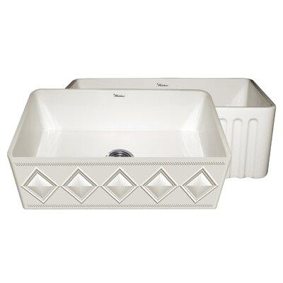 Diamondhaus 30 x 18 Kitchen Sink Finish: Biscuit