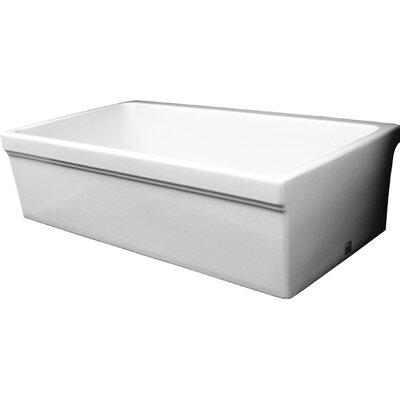30 x 20 Quatro Alcove Reversible Fireclay Sink