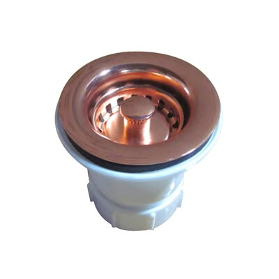 Rainbow Lift and Turn Kitchen Sink Drain Finish: Polished Copper
