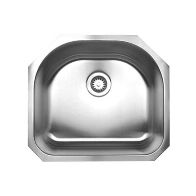 Noah 23.25 x 21 Single Bowl Undermount Kitchen Sink