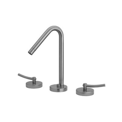 Metrohaus Double Handle Bathroom Widespread Faucet with Swivel Spout Finish: Polished Chrome