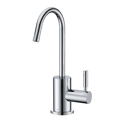 Point of Use Single Handle Deck Mounted Standard Kitchen Faucet Finish: Polished Chrome
