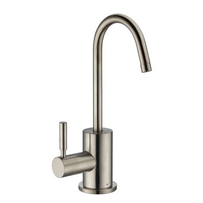 Point of Use Single Handle Kitchen Faucet Finish: Brushed Nickel