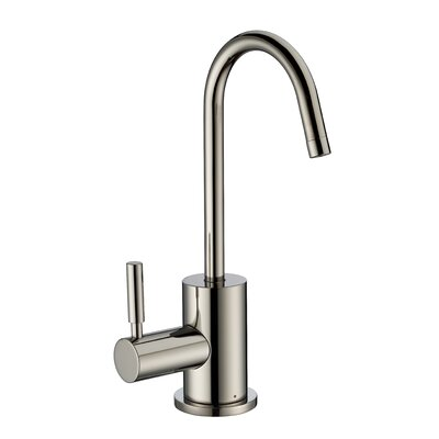 Point of Use Single Handle Standard Kitchen Faucet Finish: Polished Nickel