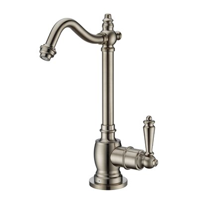 Point of Use Single Handle Deck Mounted Standard Kitchen Faucet Finish: Brushed Nickel