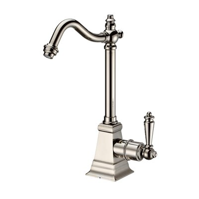 Point of Use Single Handle Deck Mounted Standard Kitchen Faucet Finish: Polished Nickel