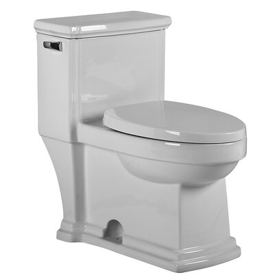 Magicflush 1.28 GPF Elongated One-Piece Toilet