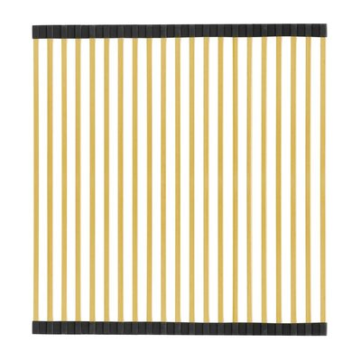 Noah Plus 17 x 18 Sink Grid Finish: Brass