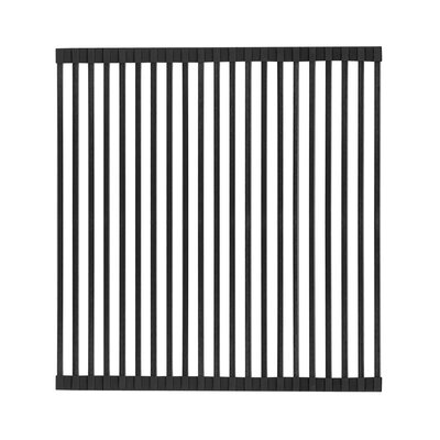 Noah Plus 17 x 18 Sink Grid Finish: Matte Black