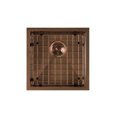 Noah Plus 18 x 18 Undermount Kitchen Sink Finish: Copper