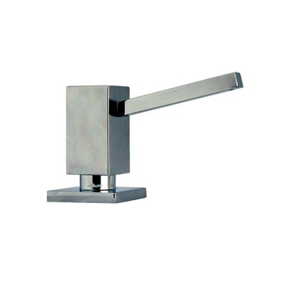 Solid Brass Square Soap Dispenser Finish: Polished Chrome
