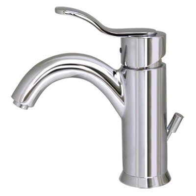 Galleryhaus Single Hole Bathroom Faucet with Single Handle Finish: Polished Chrome