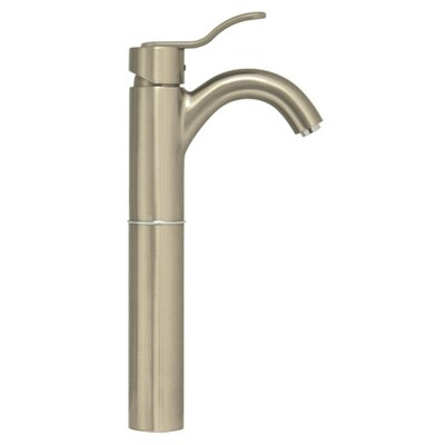 Galleryhaus Single Hole Bathroom Faucet with Single Handle Finish: Brushed Nickel