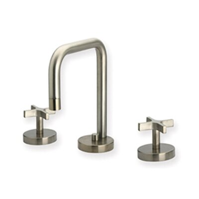 Metrohaus Widespread Bathroom Faucet with Double Cross Handles Finish: Polished Chrome