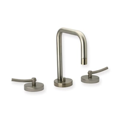 Metrohaus Widespread Bathroom Faucet with Double Handles Finish: Brushed Nickel