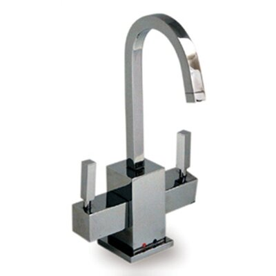 Forever Hot Q-Haus Two Handle Single Hole Kitchen Faucet Finish: Polished Chrome