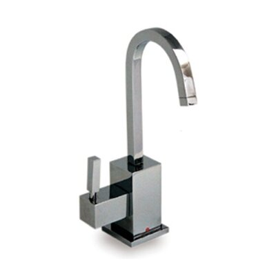 Forever Hot Q-Haus One Handle Single Hole Instant Hot Water Dispenser Faucet Finish: Polished Chrome