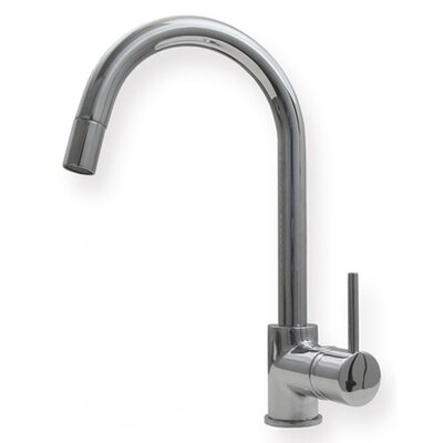 Low Price Whitehaus Collection Metrohaus One Handle Single Hole Luxe  Gooseneck Swivel Kitchen Faucet With Lever