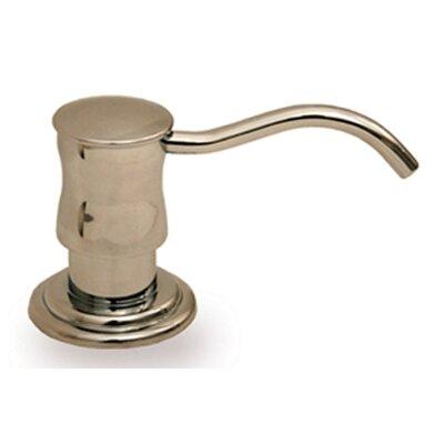 Vintage III Solid Brass 2 Soap Dispenser Finish: Brushed Nickel