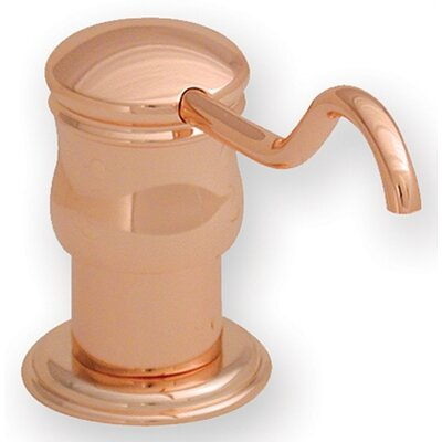 Vintage III Solid Brass 2 Soap Dispenser Finish: Antique Copper