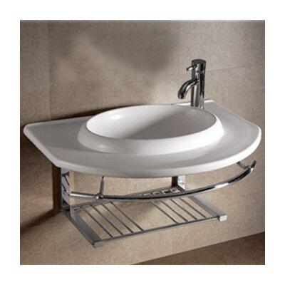Isabella Ceramic 36 Wall Mount Bathroom Sink