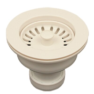 3.5 Basket Strainer for 3.5 Kitchen Sinks Finish: Biscuit