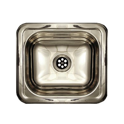 Entertainment 14.75 x 12.75 Prep 5 Rectangular Drop in Kitchen Sink Finish: Polished Stainless Steel